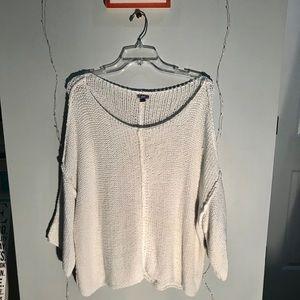 Aerie off the shoulder bonfire sweater